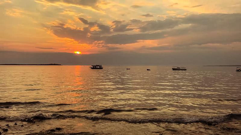 Fazana Tour-Istria-sunset
