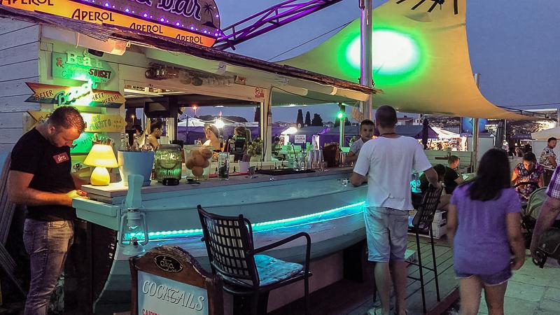 Fazana Tour-Istria-bar