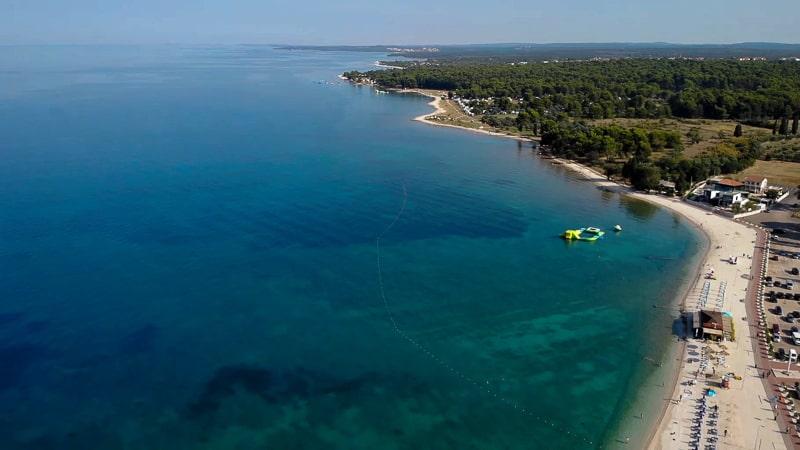 Fazana Tour-Istria-beach
