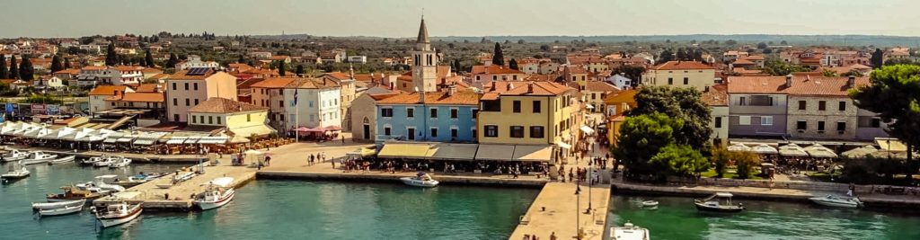 Fazana Tour-Istria-town view